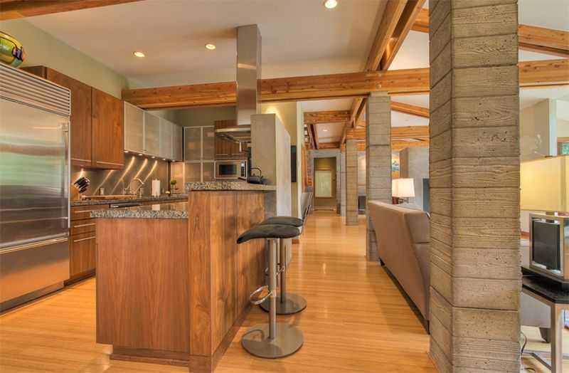 Gọn gàng, ít đồ đạc cũng là yếu tố để căn bếp đẹp, giản dị và hiện đại hơn