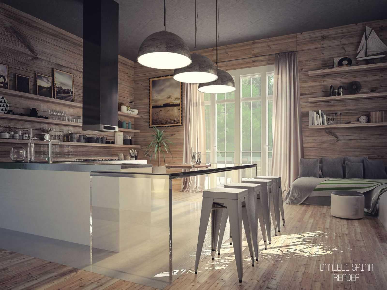 Những thiết kế độc lạ mang đến vẻ hiện đại, mới lạ cho căn phòng vốn đã giản dị